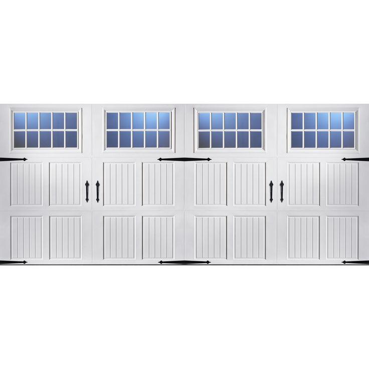 10 ideas about double garage door on pinterest garage for 16 ft garage door panels