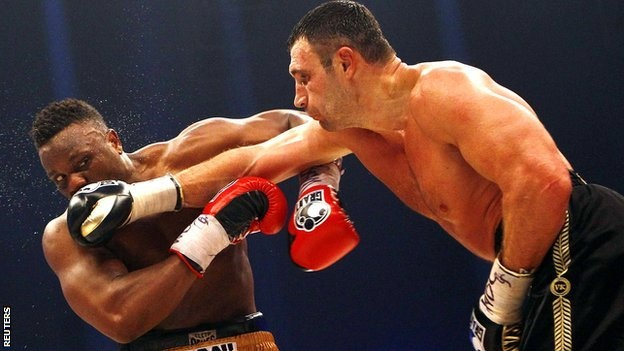 Chisora did better than expected... But the outcome was always inevitable