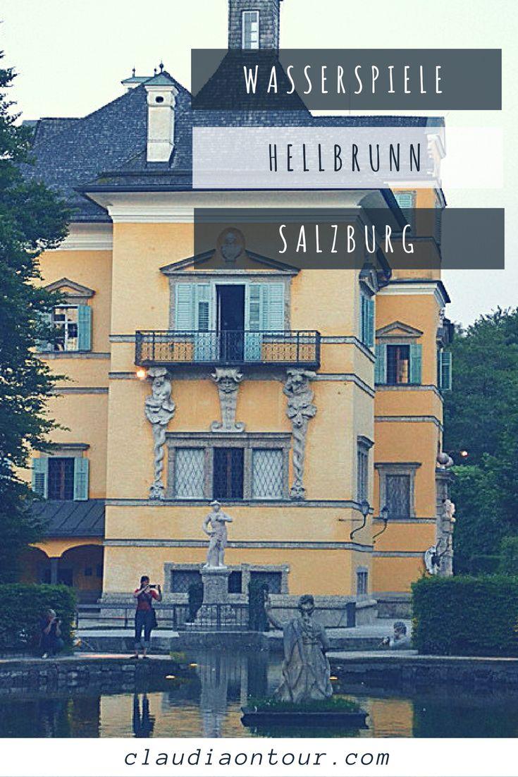 Salzburg Österreich Tourismus Wasserspiele Sound of Music
