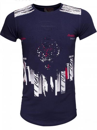 Gaznawi INDIANA T Shirt Navy Nu Voor Maar EUR 1499 Check Onze