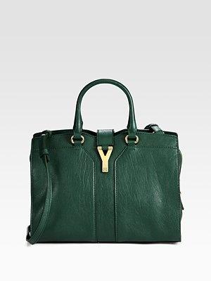 emerald satchel by Yves Saint Laurent: Yves Saint Laurent, Laurent Ysl, Minis, Chic Satchel, Bags