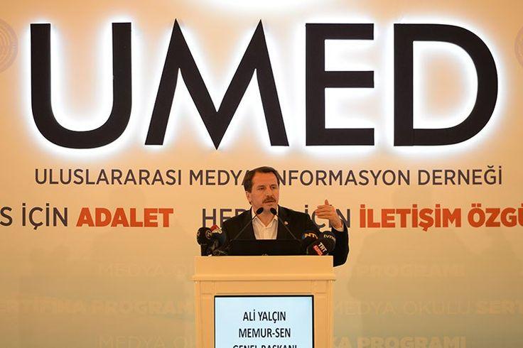 Yalçın, UMED Medya Okulu sertifika törenine katıldı