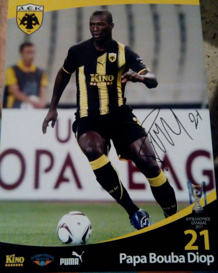 Papa Bouba Diop Date of birth28 January 1978(age38)Place of birthDakar, SenegalHeight1.95m (6ft 5in)Playing positionDefensive midfielder/Centre backYouth career1994–1995Ndeffann Saltigue1995–1996ASC DiarafSenior career*YearsTeamApps(Gls)1996–1999ASC Diaraf1999–2000Vevey2000–2001Neuchâtel Xamax19(4)2001–2002Grasshoppers29(5)2002–2004Lens47(6)2004–2007Fulham76(8)2007–2010Portsmouth53(0)2010–2011AEK Athens19(1)2011–2012West Ham United16(1)2012–2013Birmingham City2(1)Total261(26