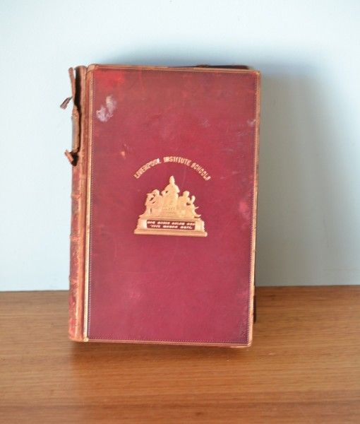 Vintage book French Revolution  Carlyle 1900 Liverbook Institute schools