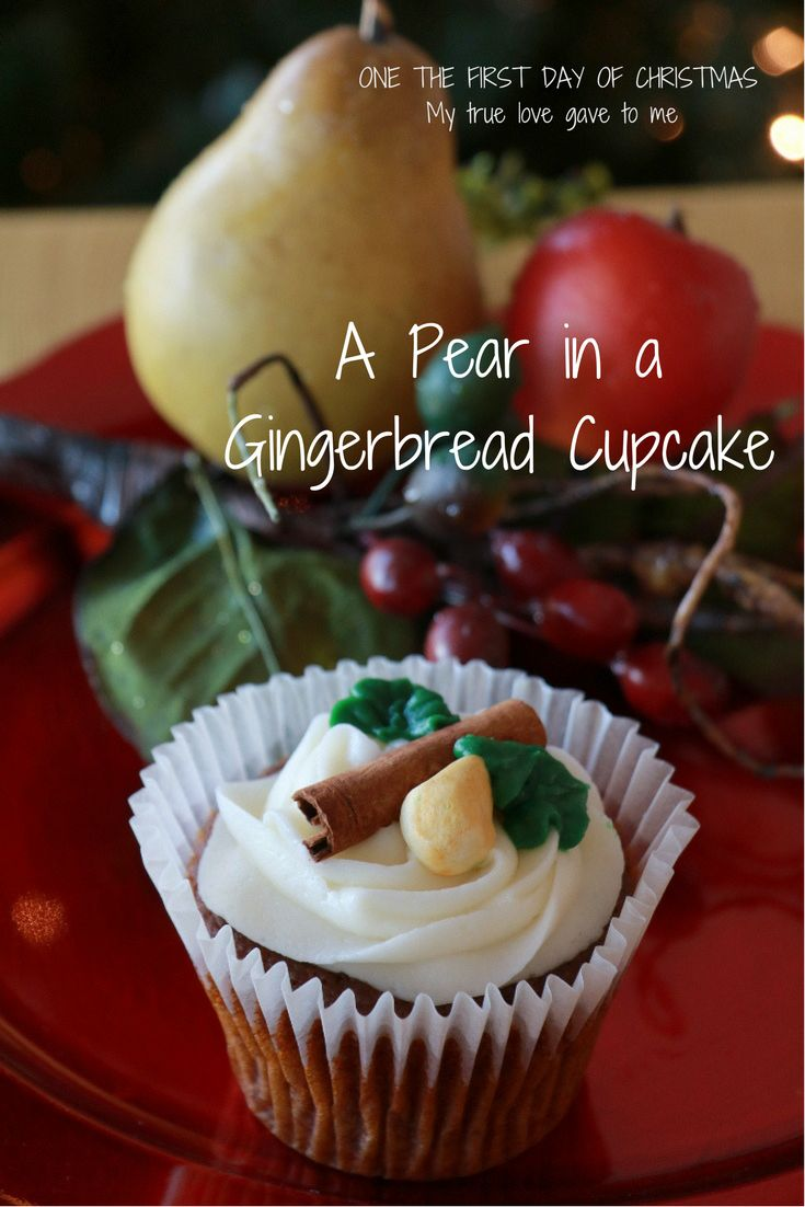 This recipe has applesauce, ginger, and fresh pear. So delicious for Christmas!