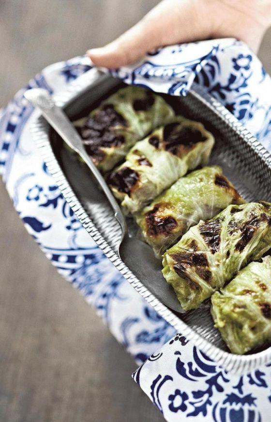 Kaalikääryleet (cabbage rolls)
