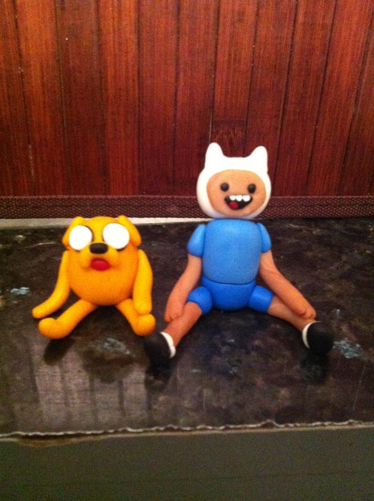 Jake and Finn cartoon network