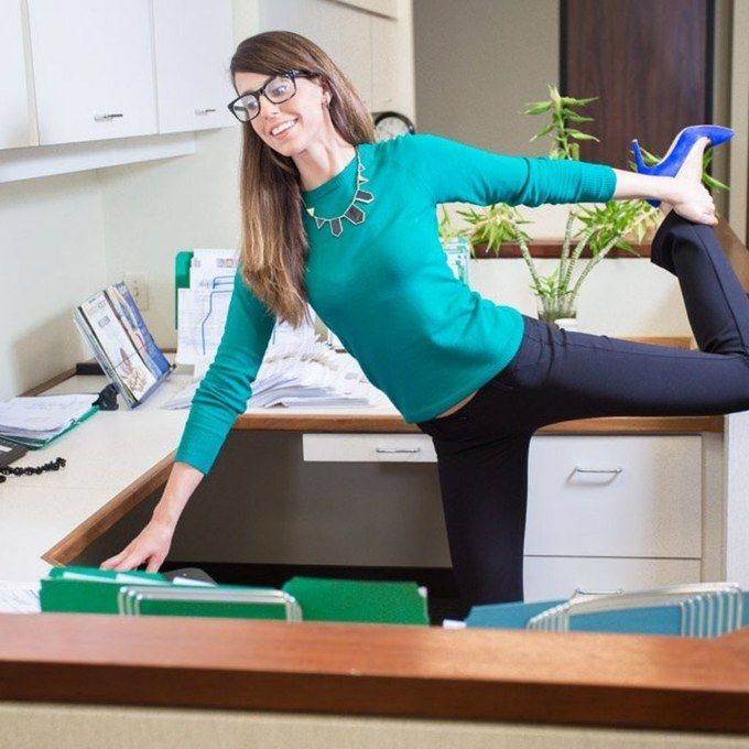 Yoga Pants You Can Wear At Work? Yes, Please!