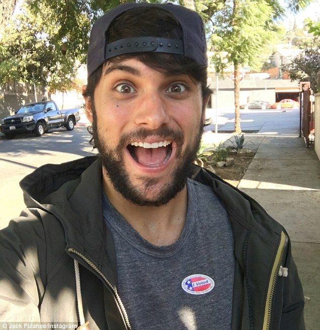 '#imwithher':It took the results of the presidential election to finally convince How to Get Away with Murder's Jack Falahee to discuss his sexual orientation