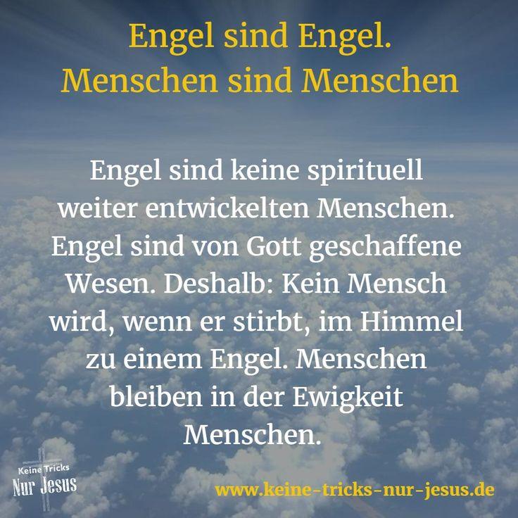 Zu Gottes Schöpfung gehören die Engel. Teil ihrer Tätigkeiten: Sie waren und sind Gottes Boten. Aber wir erhalten in Gottes Wort eindeutig den Hinweis, daß wir keine Engel anbeten sollen. Was wir im heidnischen NewAge und in der Esoterik mit all dem Engelskult sehen, ist nicht das, was wir tun sollen.