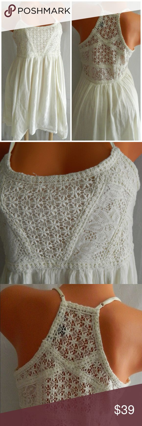 AMERICAN EAGLE Lace DRESS Boho Festival Gypsy In gentle pre-owned condition American Eagle Outfitters Dresses