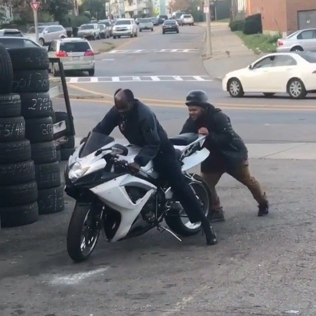 Don't worry the customer will never know - Tag someone who needs to see what happens when you Drop off your Bike for a oil change -  #funnymotorcycle #galferusa #cyclelaw #funnyvideos #instagram #instagramer #fail