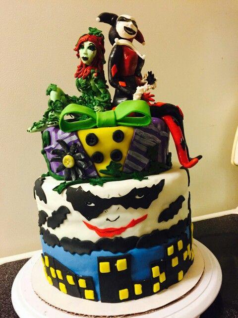 Poison Ivy Amp Harley Quinn Let Them Eat Cake Pinterest