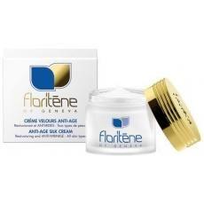 Crema profesionala antiage Floritene reface structura pielii si o protejeaza impotriva formarii ridurilor.