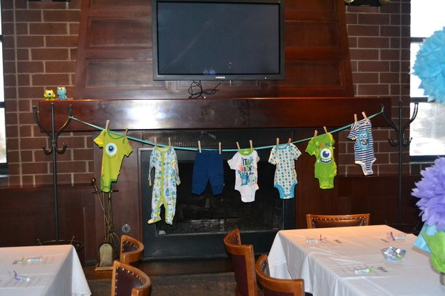 """Photo 14 of 27: Monster's Inc / Baby Shower/Sip & See """"Monster's Inc Baby Shower"""" 