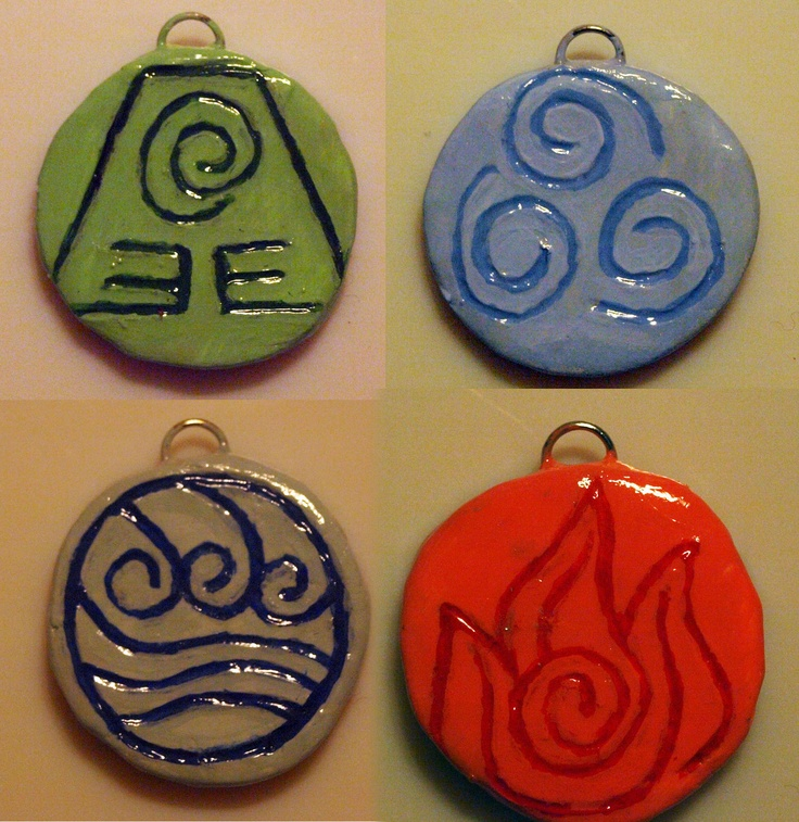 Avatar The Last Airbender Nation s Symbols  Pendants  So coolAvatar The Last Airbender Water Symbols