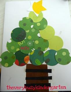 Simple Christmas card idea for class helpers.