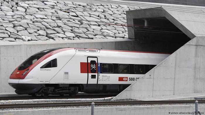 У Швейцарії відкрили найдовший залізничний тунель у світі. У Швейцарії відкрили найдовший залізничний тунель у світі— Готардський базовий тунель. #time_ua #новини #Україна #Київ #новости #Украина #Киев #news #Kiev #Ukraine  #EU #Політика