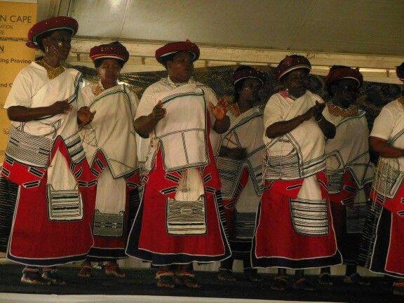 Traditional Xhosa dress, Eastern Cape province