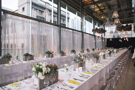 Em and Max's Modern City Wedding