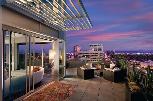 Go Inside the Posh Penthouses at One Lexington in Downtown Phoenix | Haute Living