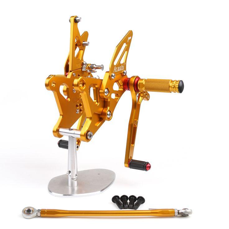 Mad Hornets - Rear Set Kawasaki ZX6R ZX 6R (2005-2006) Gold, $199.99 (http://www.madhornets.com/rear-set-kawasaki-zx6r-zx-6r-2005-2006-gold/)