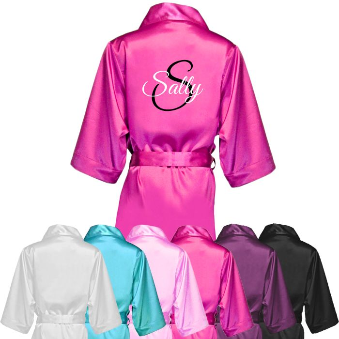 Name & Initial Personalised Robe