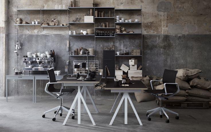 17 meilleures id es propos de bureau modulable sur pinterest table modula - Bureau modulable ikea ...