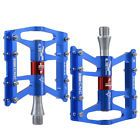 "RockBros Cycling MTB Road Bike 4 Sealed Bearing Pedals Aluminum 9/16"" Blue - $18.50 - http://www.carbonframebikes.com/us/Bicycle-Pedals-Mountain-Bike.html"