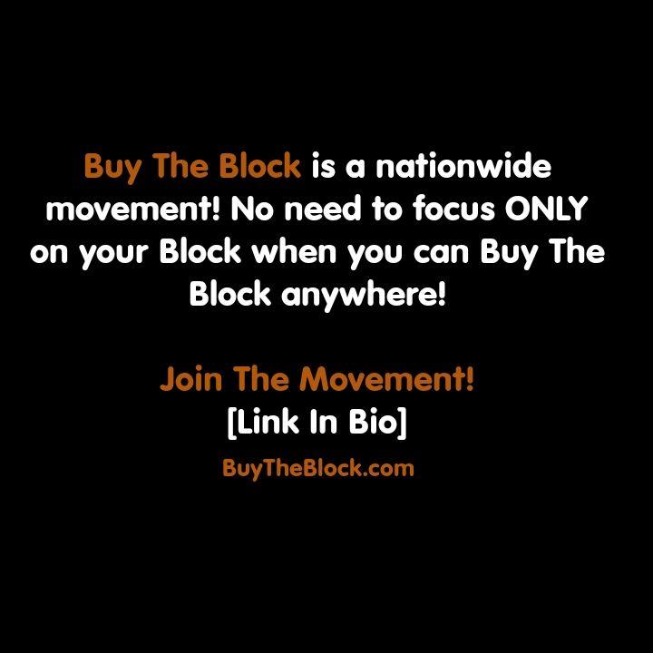 MEMBERS OF THE BLACK COMMUNITY RALLY TOGETHER TO 'BUY BACK THE BLOCK'– CHALLENGING THE STATUS QUO https://www.bbnomics.com/program-showing-black-community-buy-back-block-one-investment-time/?utm_content=bufferea73c&utm_medium=social&utm_source=pinterest.com&utm_campaign=buffer #BUYTHEBLOCK