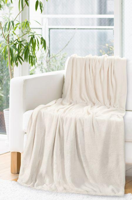 Hrejivá deka béžovej farby