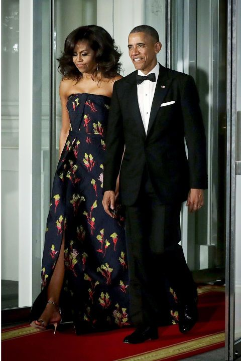 The 7 best dressed looks from the White House State Dinner here: