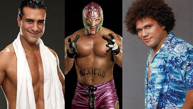 WWE: 12 latinos que destacaron en la empresa de lucha libre
