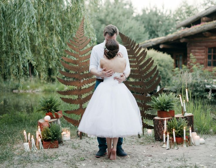 Цветок папоротника: свадьба Кати и Игоря
