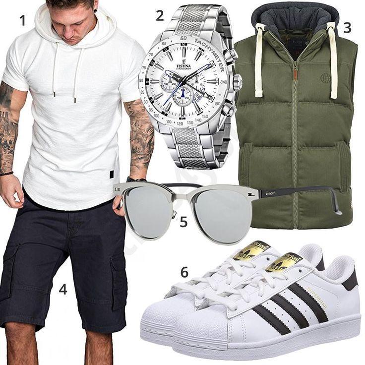 Herrenoutfit mit weißem Shirt, Sneakern und Uhr #shirt #uhr #adidas #sneaker #outfit #style #herrenmode #männermode #fashion #menswear #herren #männer #mode #menstyle #mensfashion #menswear #inspiration #cloth #ootd #herrenoutfit #männeroutfit – Skinny Wrap Sidnia's Way