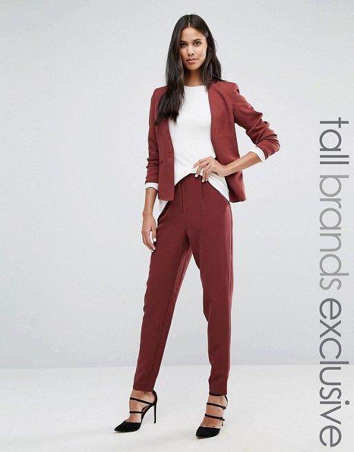 Y.A.S Tall | Y.A.S Tall - Clady - Pantaloni da abito in coordinato