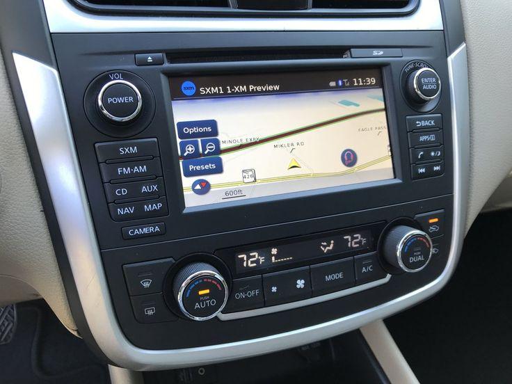 20132018 Nissan Altima NissanConnect® GPS Navigation