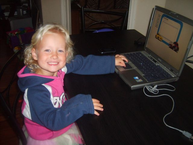 My daughter using kids email to talk to her grandma! Go to www.kidsemail.org to learn more!
