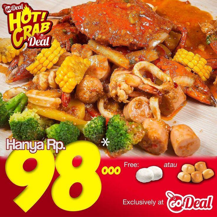 [Hot Crab Style] Super delicious Hot Crab tomorrow would be last day eat or no discount anymore! Super enak Hot Crab besok hari terakhir makan atau tidak dapat diskon lagi!