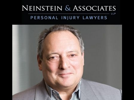 Gary Neinstein, Senior Partner at Neinstein & Associates, Frequently Recommended Personal Injury Attorney in Ontario