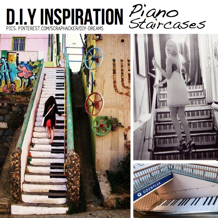 stairs painted like piano keys - Google Search