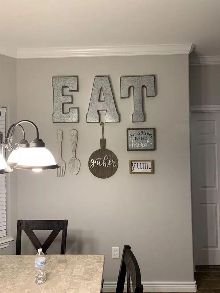 ✔82 popular farmhouse wall decor design ideas for natural interiors 53
