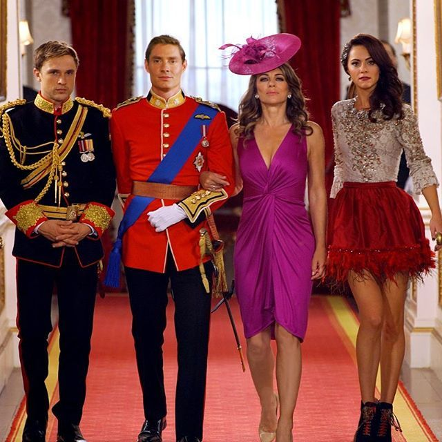 They're a force to be reckoned with. Take note, Cyrus. A juicy new episode airs tonight at 10 9c on E! #TheRoyals