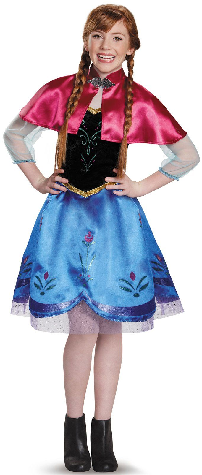 Frozen: Anna Traveling Gown Costume For Tweens from Buycostumes.com