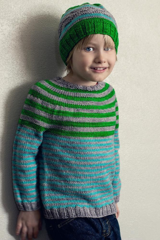 Bullseye Boys Sweater Pattern