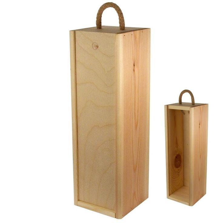 Cajas De Madera Para Vino 1 Botella Somos Fabricates Cajas - $ 99,90 en MercadoLibre