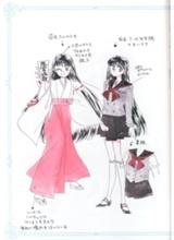 Rei Concept Art - Sailor Moon Wiki