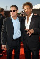 Gary Dourdan and George Eads