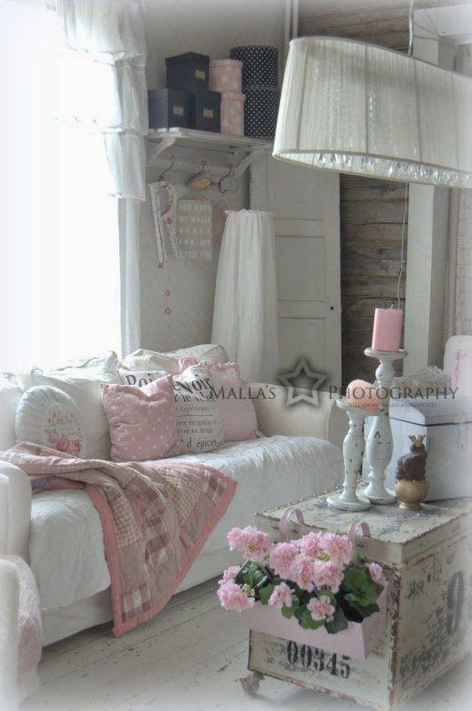 429 best Shabby Chic images on Pinterest Decoration - shabby chic badezimmer