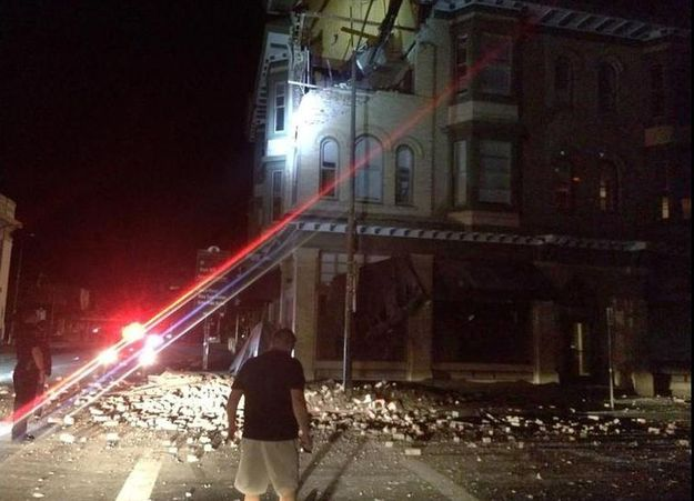 Northern California Hit By Strongest Earthquake In 25 Years, More Than 100 Injuries Reported